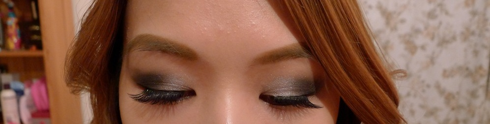 FOTD Black Smoky Eye 1