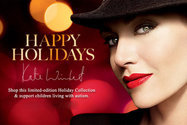 Lancôme and Kate Winslet For Autism