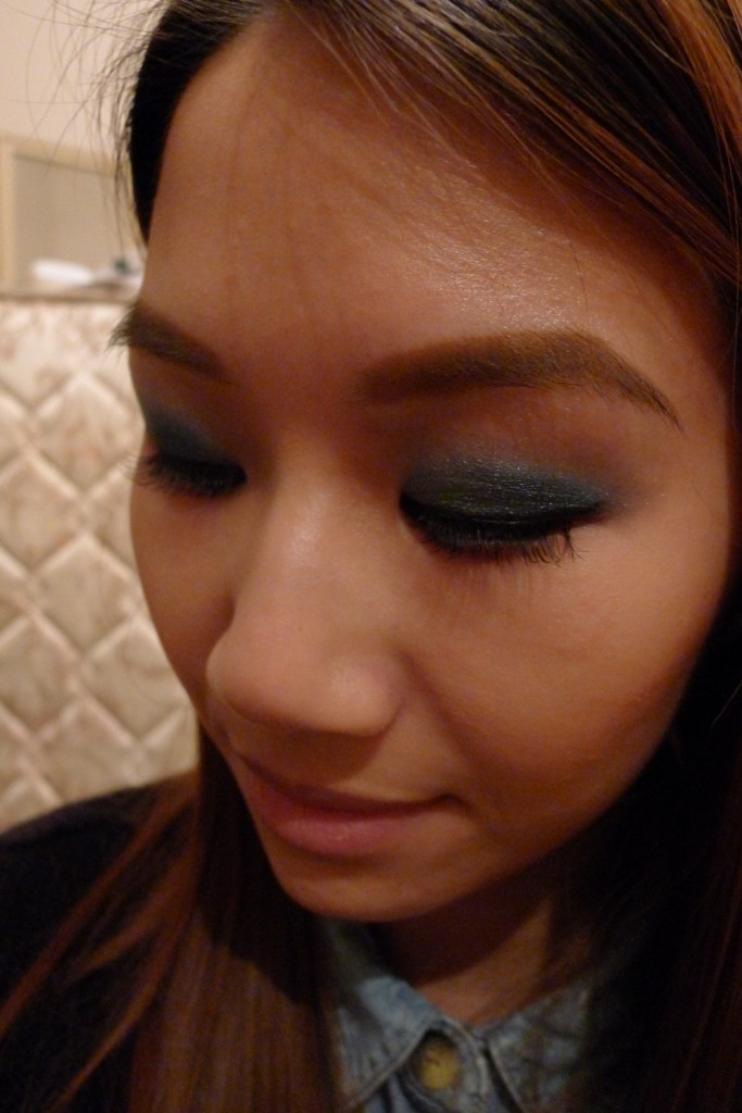 Blissfully Blue Smokey Eye Makeup Tutorial