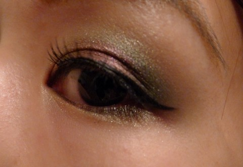 Christmas Party Makeup 2011 1