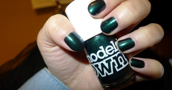 Models Own Beetlejuice Emerald Black 1