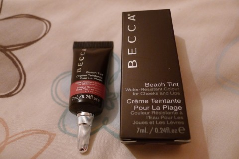 Becca Beach Tint Review 1