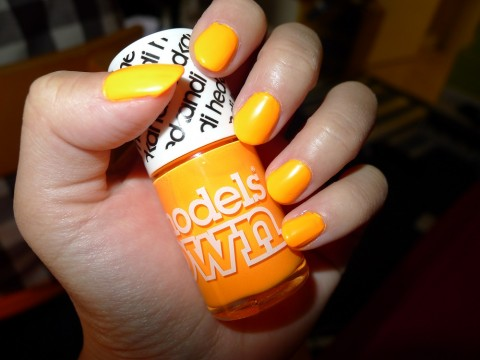 Nail Of The Day Models Own Beach Party Nail Polish Review 4