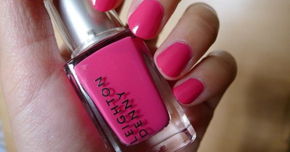 Nail Of The Day Leighton Denny Plush Pink Nail Polish Review 1