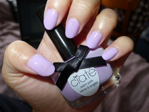 Nail Of The Day Ciate Purple Sherbet Nail Polish Review 7