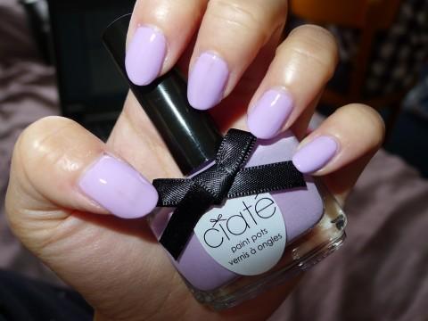 Nail Of The Day Ciate Purple Sherbet Nail Polish Review 7
