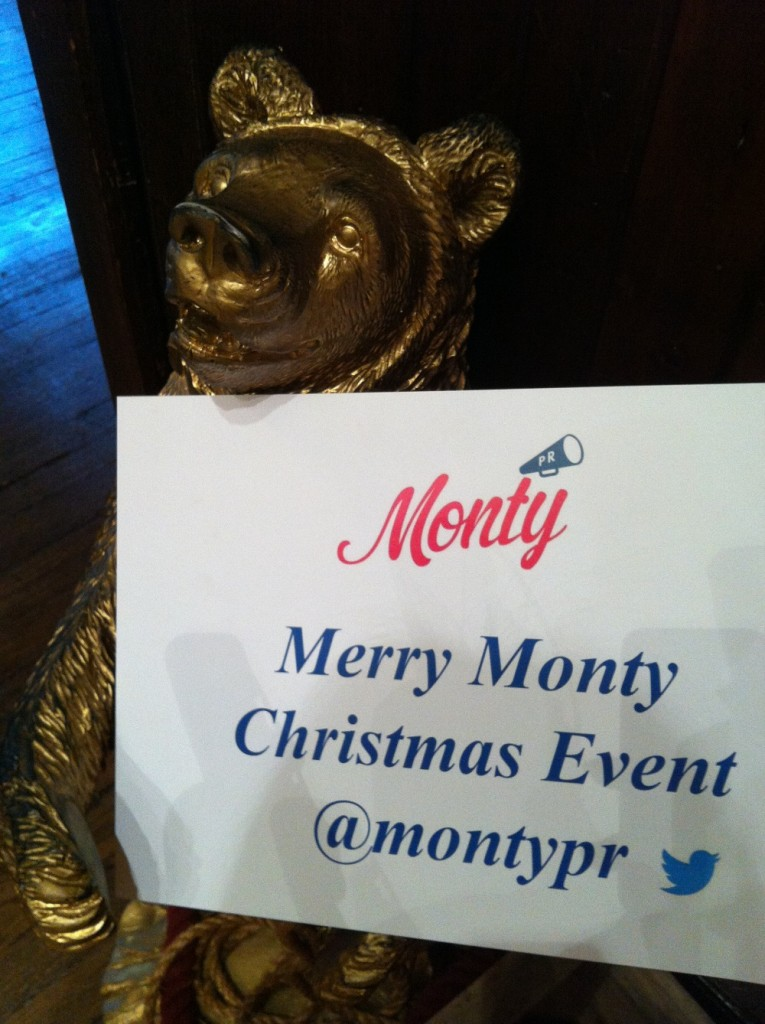 Monty PR Christmas Press Day