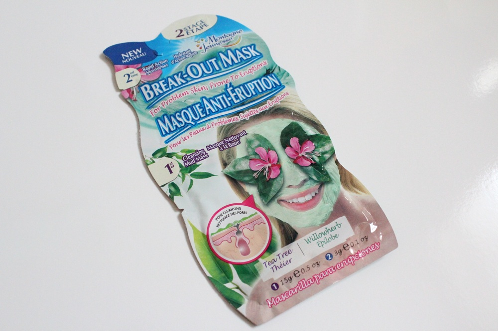 Montagne Jeunesse Break Out Mask Review 1