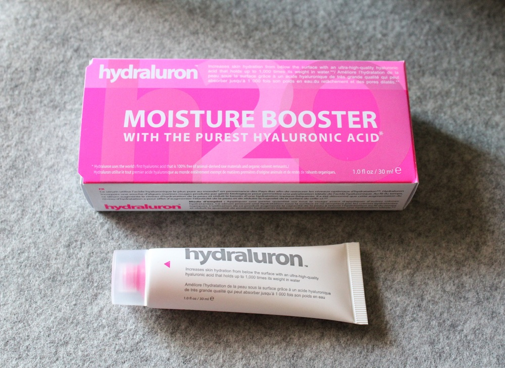 Hydraluron Moisture Booster Review 1