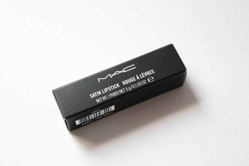 MAC Rebel Lipstick Review 1