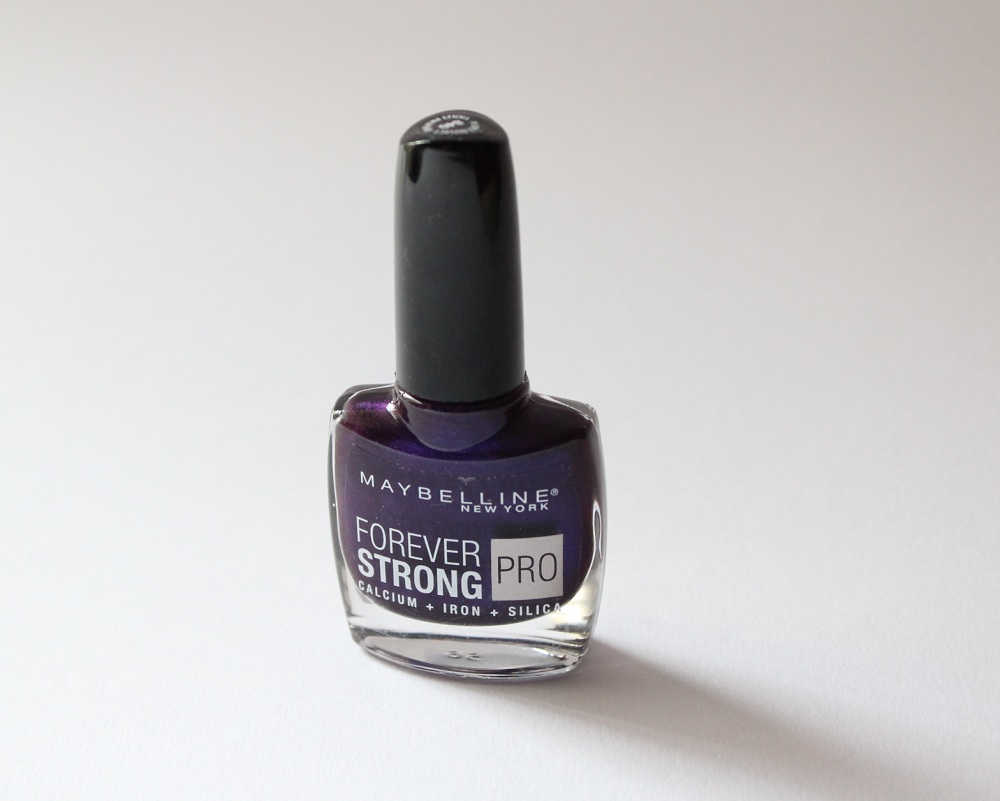 Maybelline Forever Strong Nail Polish Review 2