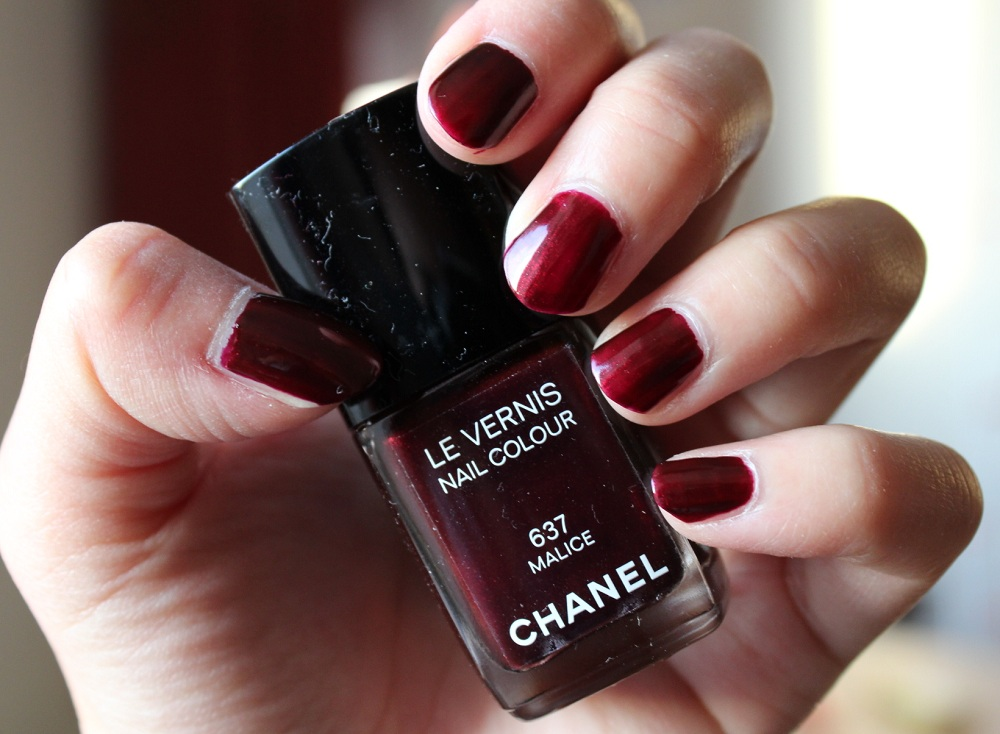 Chanel Malice Nail Polish Review 4