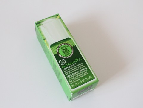 The Body Shop Nutriganics Drops Of Youth 1