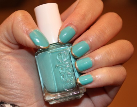 Essie Where's My Chauffeur Nail Polish Review 1