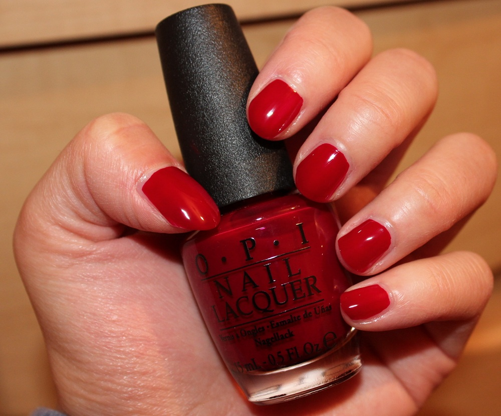 OPI Malaga Wine Nail Polish Review - Beauty In My Mind