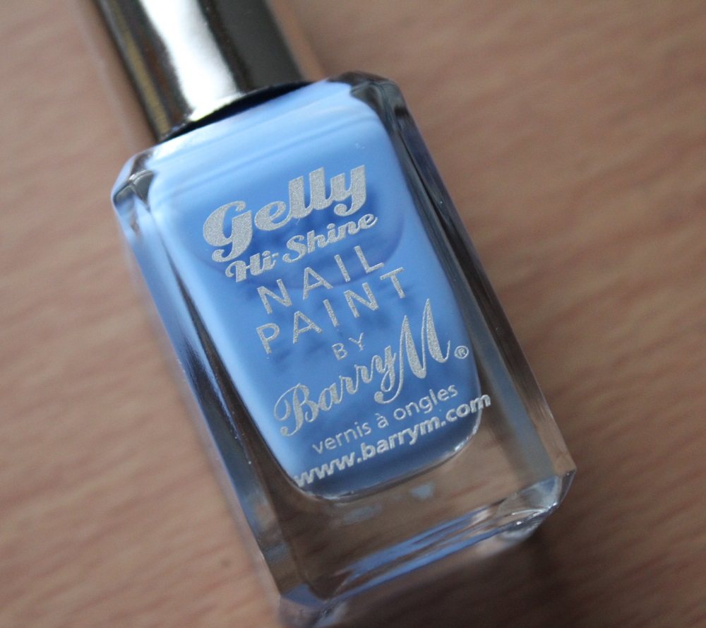 Barry M Gelly Hi Shine Nail Polish Review 2