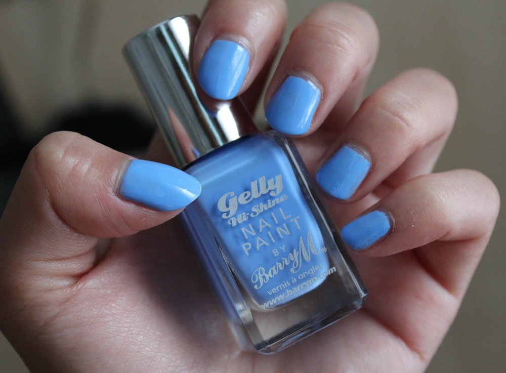Barry M Gelly Hi Shine Nail Polish Review