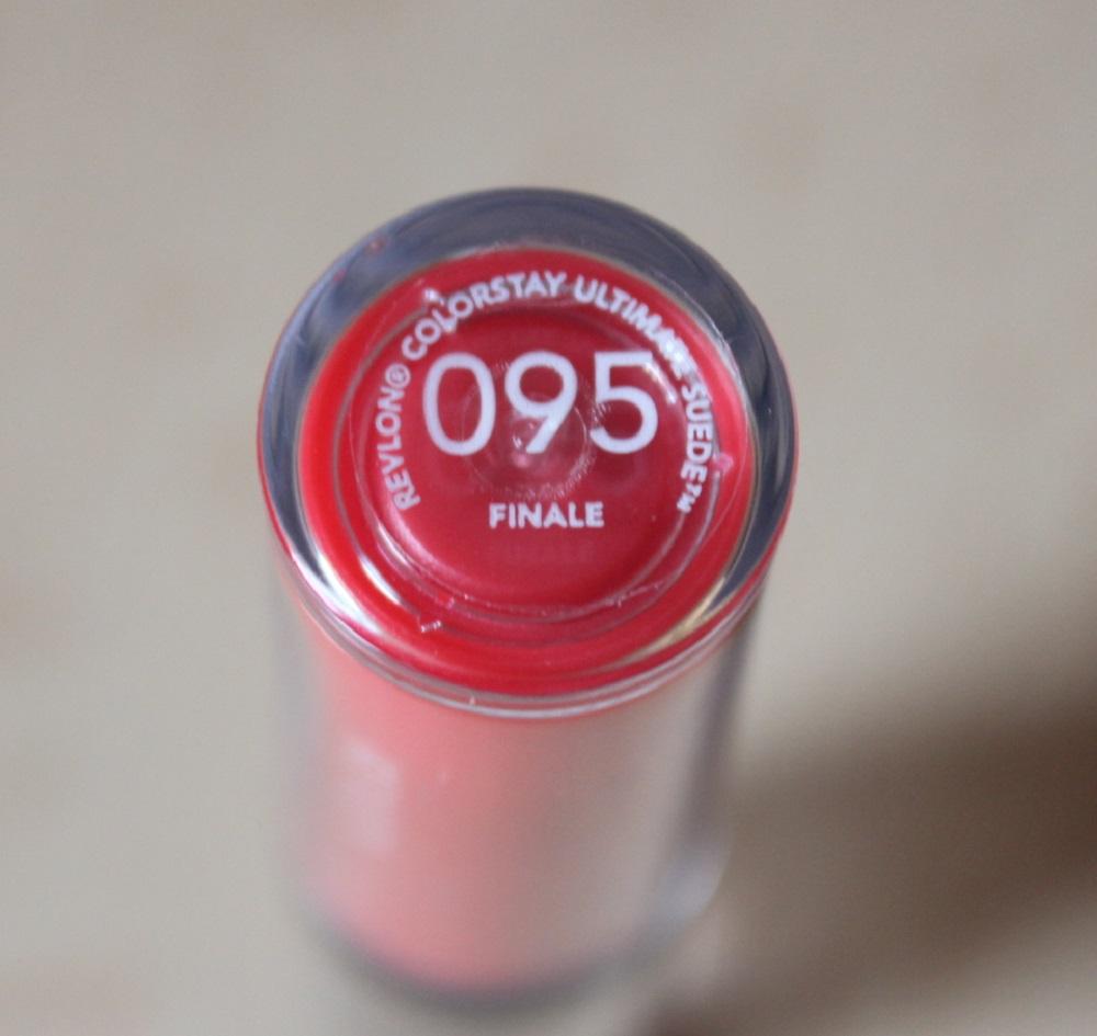 Revlon Ultimate Suede Finale Lipstick Review 3