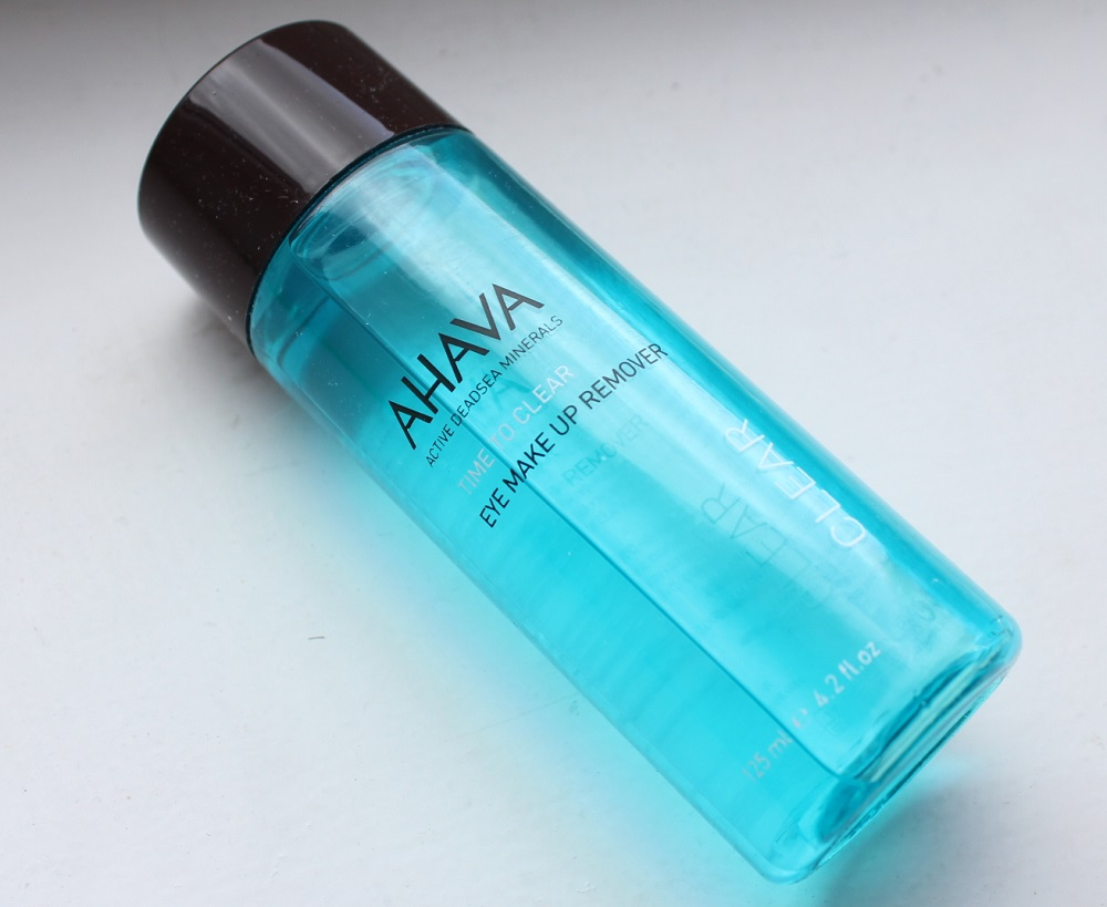 Ahava Eye Makeup Remover Review