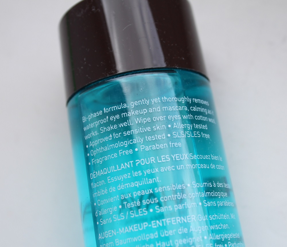 Ahava Eye Makeup Remover Review 3