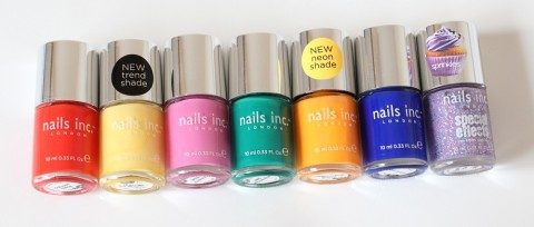 Nails Inc Lucky Dip Haul 1