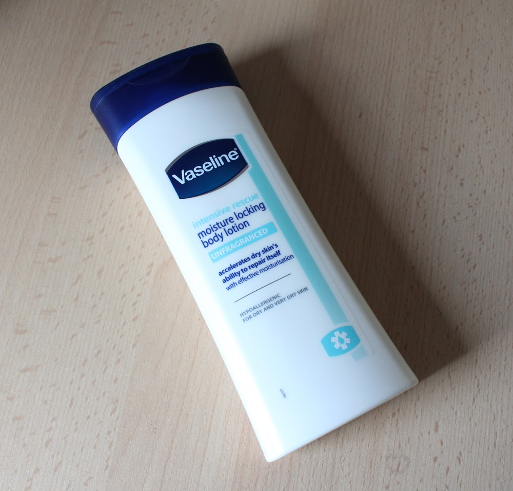 Vaseline Intensive Rescue Moisture Locking Body Lotion Review 1