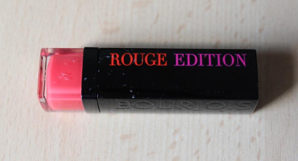 Bourjois Rouge Edition Fraise Remix Review 1