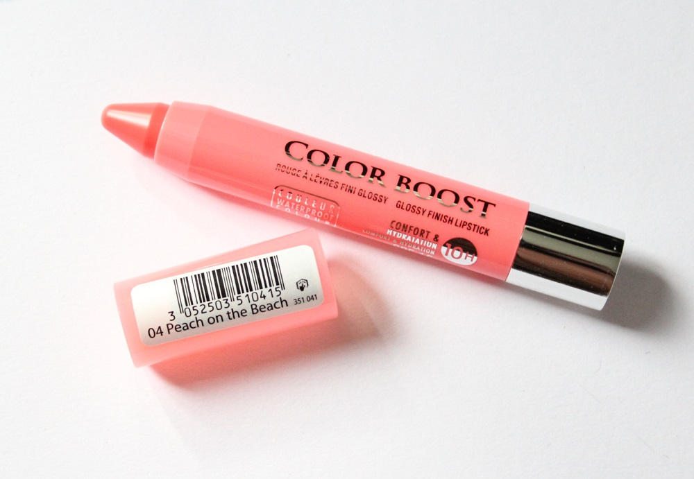 Bourjois Color Boost Lip Crayon Review 3