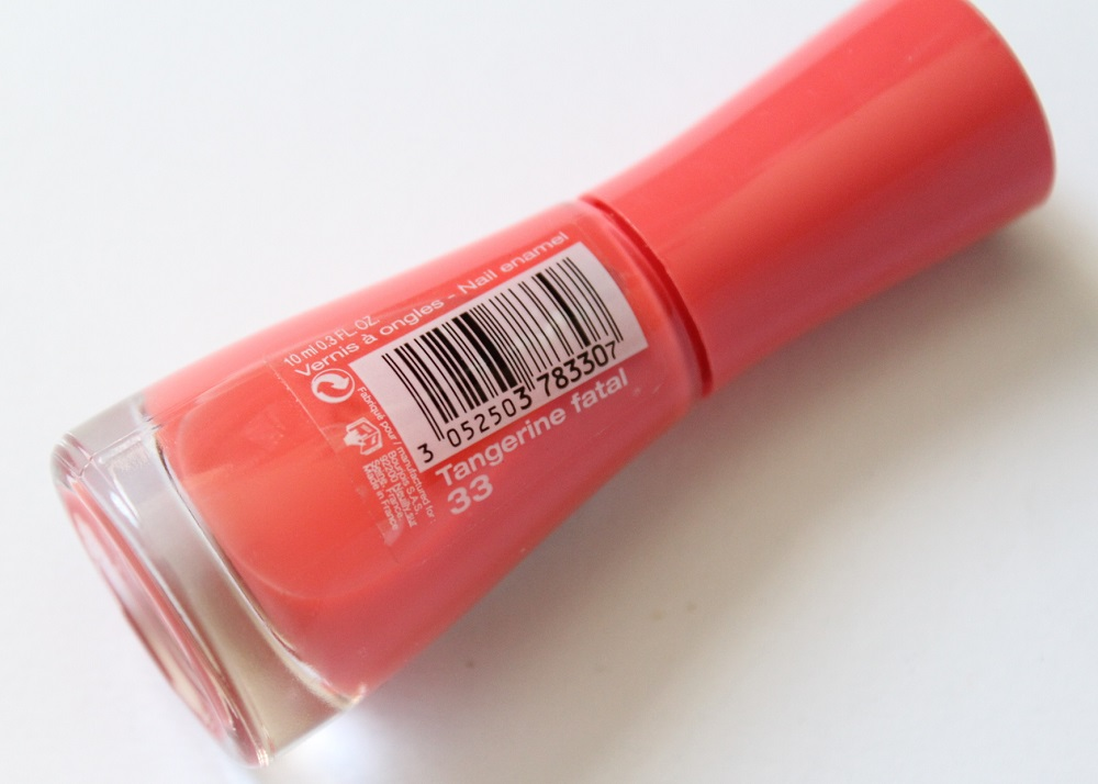 Bourjois So Laque Tangerine Fatal Nail Polish Review 2