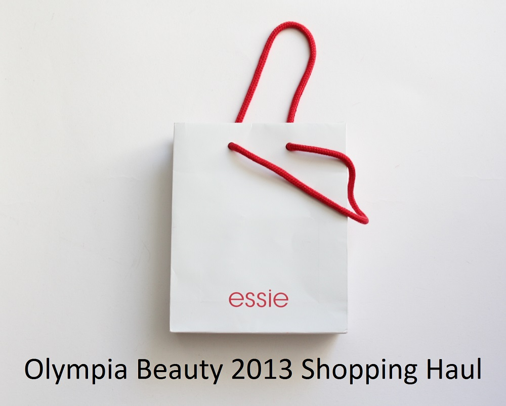Olympia Beauty 2013 Shopping Haul 1