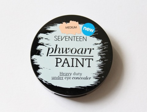 Seventeen Phwoarr Paint Concealer Review 1