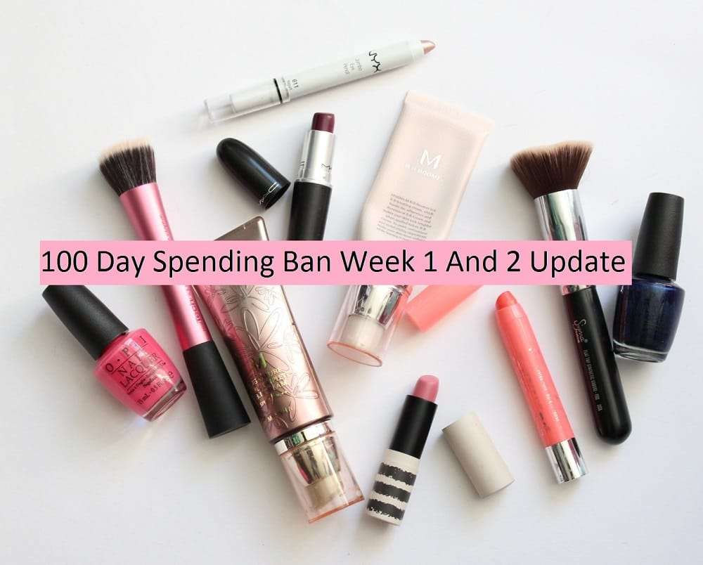 100 Day Spending Ban Week 1 And 2 Update