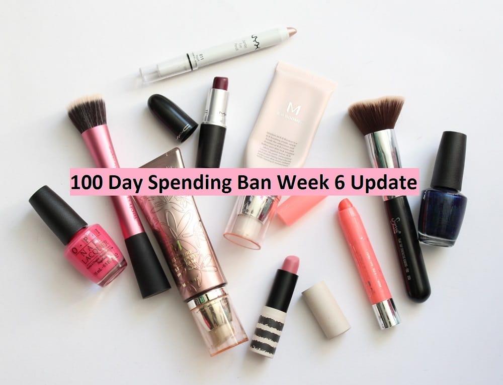 100 Day Spending Ban Week 6 Update
