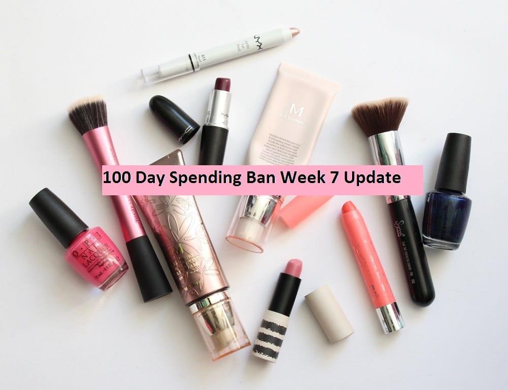 100 Day Spending Ban Week 7 Update