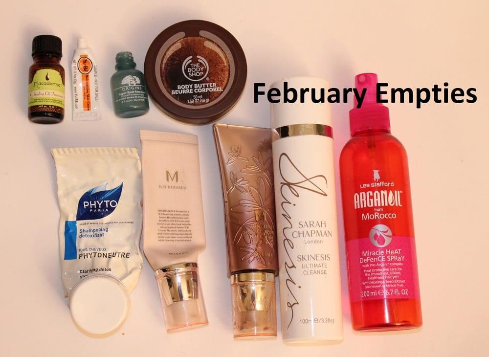 February Empties 1