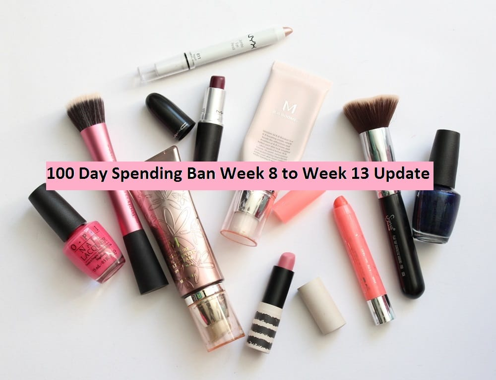 100 Day Spending Ban Week 8 to Week 13 Update
