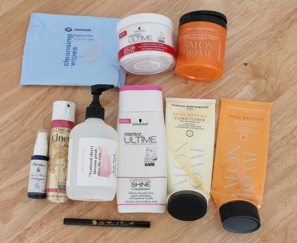 June, July and August Empties