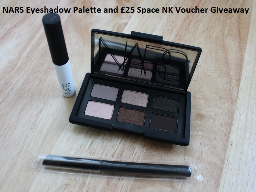 NARS Eyeshadow Palette and £25 Space NK Voucher Giveaway