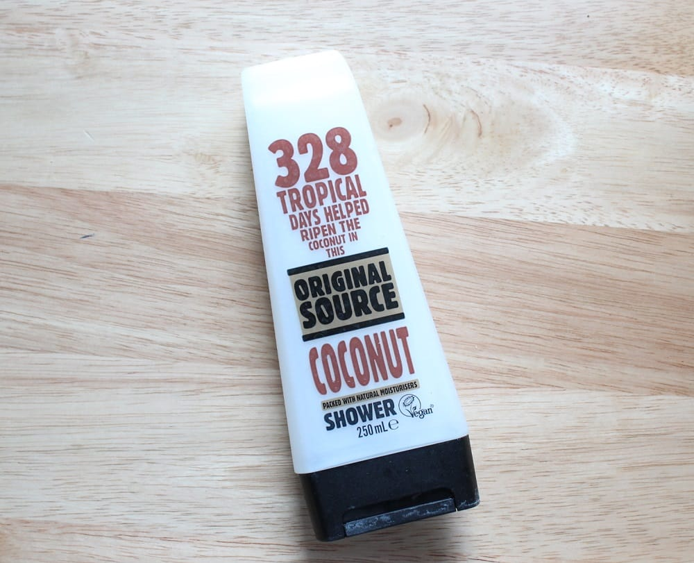Original Source Coconut Shower Gel Review