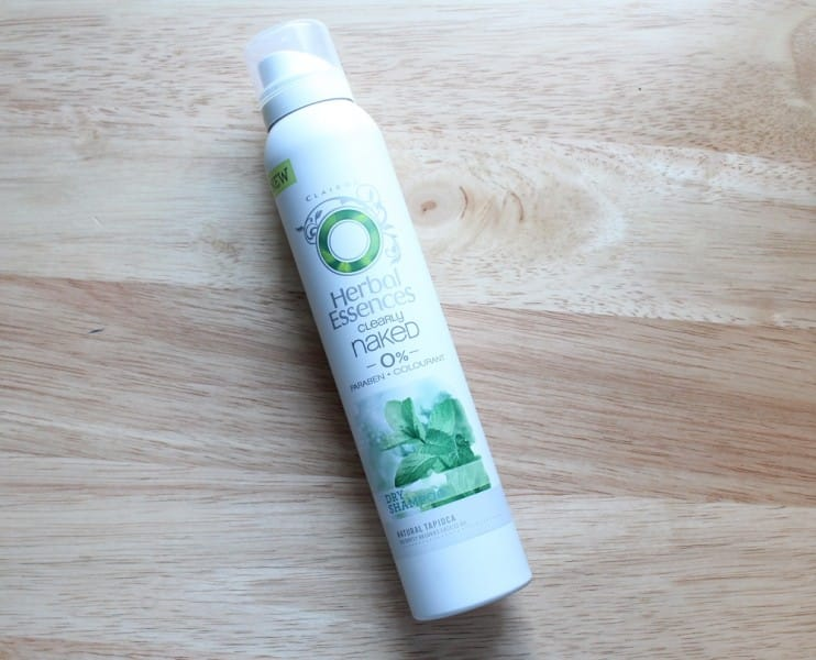 Herbal Essences Naked Dry Shampoo Review - Neon Chipmunk