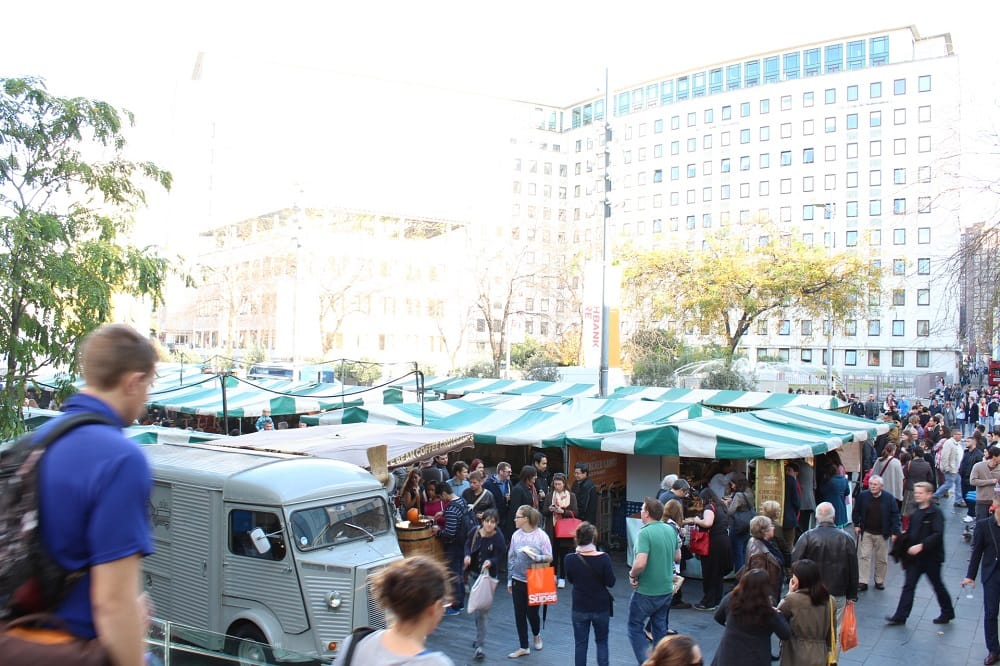 Strolling Around Southbank Market 2