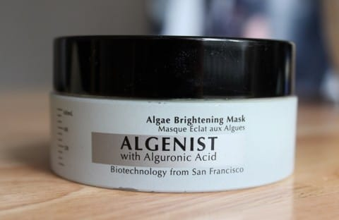 Algenist Algae Brightening Face Mask Review 1