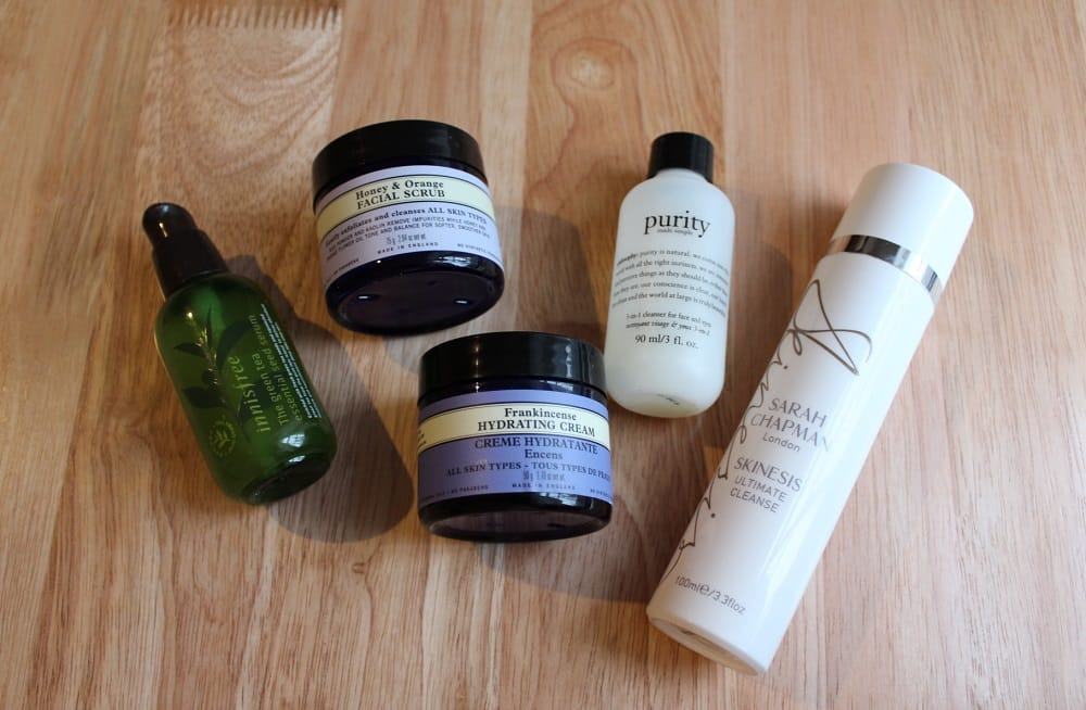 Skin Care Favourites 2014 1