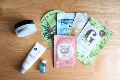 Skin Care Series Masks and Treatments 1