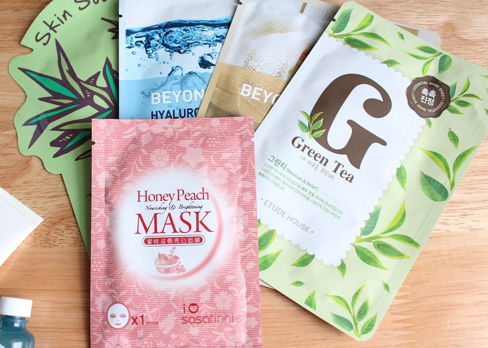 Skin Care Series Masks and Treatments 4