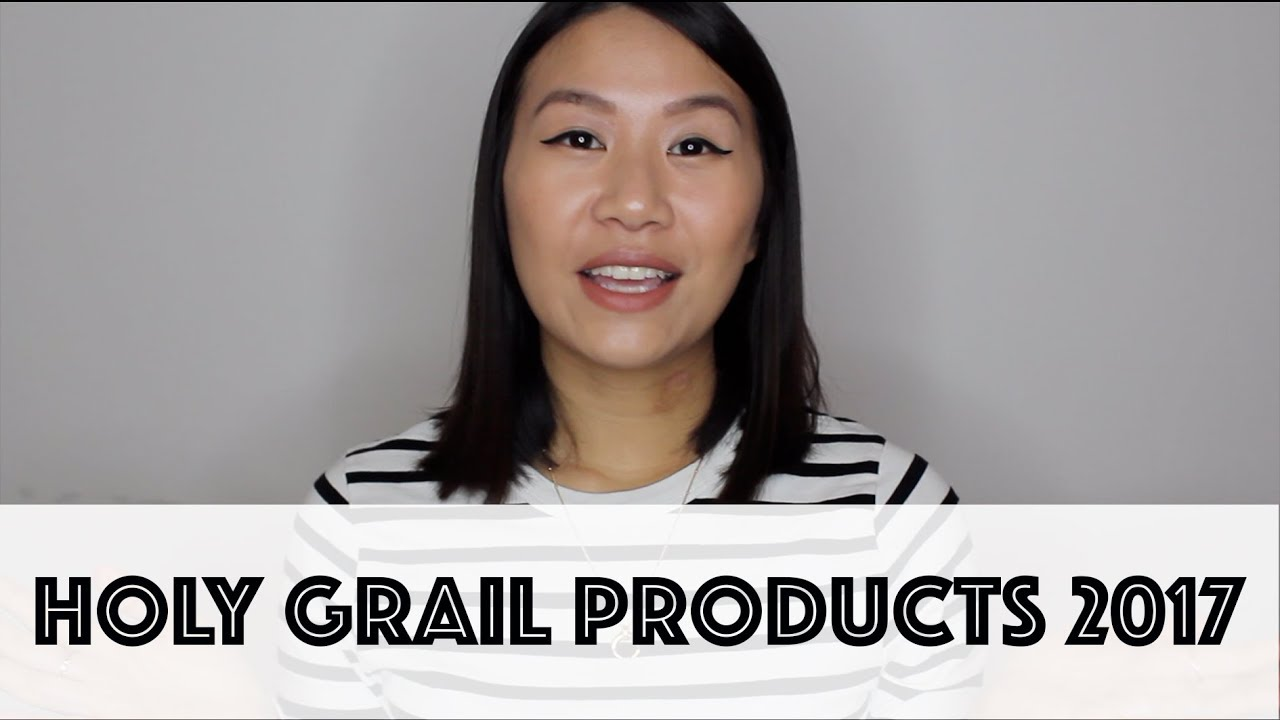 Holy Grail Products 2017 Video
