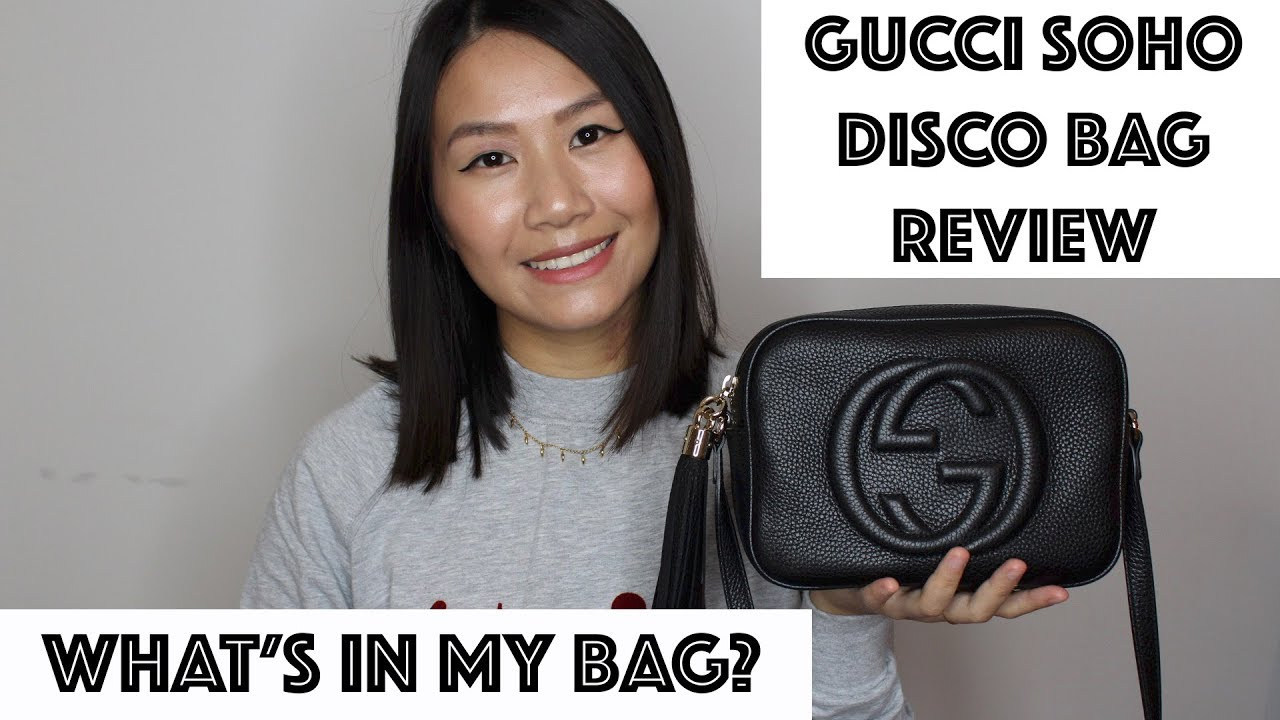 What's In My Bag And Gucci Soho Disco Review